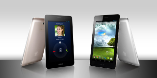 The powerful ASUS FonePad* with Intel Inside®