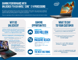 Gaming Performance with Unlocked 7th Gen Intel® Core™ i7 K Processors