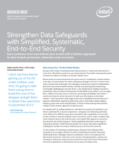 Strengthen Data Safeguards with Simplified, Systematic Security