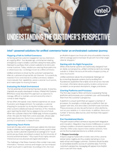 Understanding the Customer's Perspective—Unified Commerce