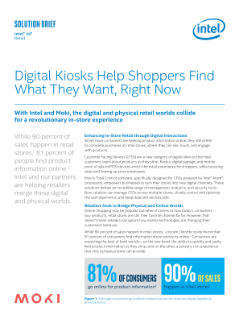 Moki Digital Kiosks Help Shoppers Find What They Want Faster
