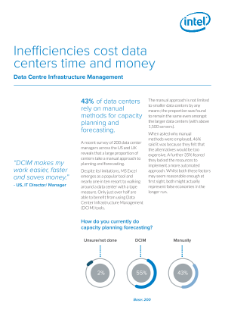 Inefficiencies cost data centers time and money Data Centre Infrastructure Management