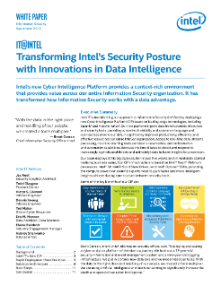 Improve Info Security with Data Intelligence