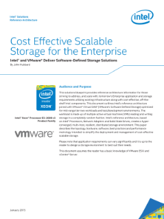 Cost-Effective, Scalable Storage for the Enterprise